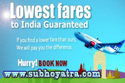 Cheapest air tickets online.Lowest price guaranteed.