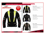 Motorcycle Leather Clothing, Motorbike Leather Garments by Neowell.biz
