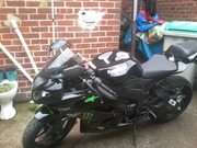 zx6r 09 2075 miles