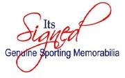 Its Signed Memorabilia